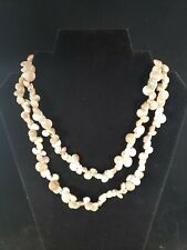 Natural Shell Seashell Necklace Womens Jewelry