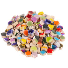 Micro Ceramic Mosaic Tiles Pieces Porcelain Odd-shaped Inserts For Crafts Tesser