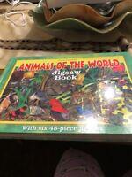 Animals of the World Jigsaw Book (Jigsaw Books) by Garry Fleming
