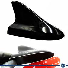 ANTENNA FINTA PINNA DI SQUALO adesiva Nera PER Seat Ibiza Estetica tuning sport