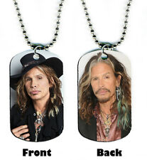 DOG TAG NECKLACE -  Steven Tyler 1 Aerosmith rock country singer songwriter