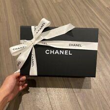 Genuine Chanel Magnet Box with Flower & Ribbon 26cm x 17cm x 11cm