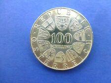 100 Schilling Silber Johann Straus 1975 SS.