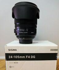 Sigma 24-105mm f/4 DG OS HSM ART (per Nikon)usato con scatola originale