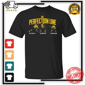 The Perfection Line Pastrnak, Marchand, Bergeron Boston Bruins T-Shirt S-4XL