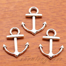 60Piece 19mm Charms Anchor pendant DIY Jewelry For Bracelet Tibetan Silver F7116
