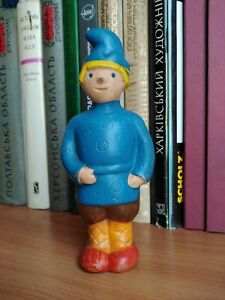 Rare very old Soviet rubber boy. Soviet Toy. Vintage Toy. Collectible children's