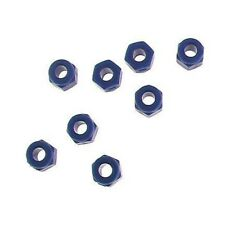 Hot Racing PLN306 Neon Blue 3mm Lock Nut (8)
