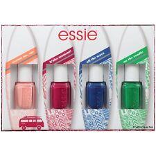 Essie B'Aha Moment Mini Nail Polish 4 Piece Set New In Box Pink Red Blue Green