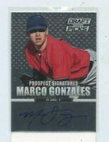 2013 Panini Prizm Perennial Draft Picks Prizms #20 Marco Gonzales Auto Rookie