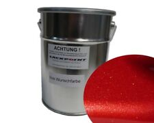 3 Liter Water-Based Paint Spray-Ready Royal Red Metallic Car Paint Red Tuning