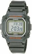 Casio Kids F-108WH-3ACF Big Square Digital Display Quartz Army Green Watch