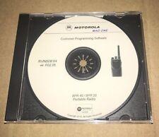 New listing Motorola Mag One Programming Bpr 20 Bpr 40 Rvn5081H R02.05 Programming Cps