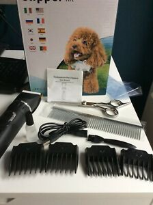 PET Grooming Kit, PROFESSIONAL  CORDLESS rechargeable battery, NEW BOXED
