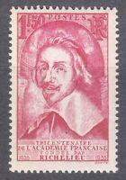 France 1935 MNH Mi 301 Sc 304 Cardinal Richelieu ,Foreign Secretary ** LUXUS **