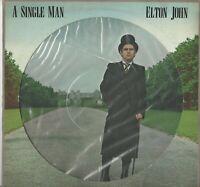 LP PICTURE ELTON JOHN : A SINGLE MAN   NUOVO NON SIGILLATO