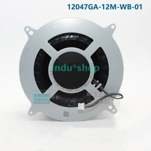 For PS5 NMB 12047GA-12M-WB-01 DC12V 2.4A Cooling Fan Brand New