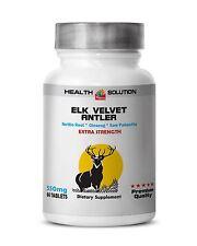 Deer Antler Velvet Extra Strength  Boost Anti Aging ImmuneEndurance Sex Drive 1B