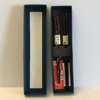 2 Pair Couple's Set Chopsticks Ginza Natsuno Japanese New In Box