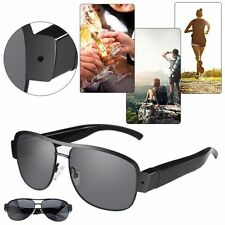 1080P HD Sunglasses Eyeglasses Mini Spy Hidden Camera Video Recorder DVR DV