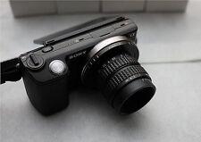 25mm f/1.4 C Mount CCTV Lens to Sony Nex-5T N-3N F3 N6 N7 N-5R A6000 A6500/A6300