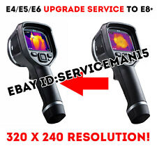 FLIR E4 E5 E6 CAMERA UPGRADE TO E8+ SERVICE 320x240 Resolution Menu