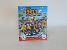Finde 501 Dinge auf der Baustelle Kinder Buch