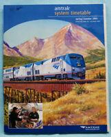 Amtrak System Timetable - Spring/Summer 2004