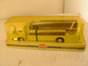 Model Power Playart 1:48 Sca Jaune Américain La France Feu Moteur Tuba Camion