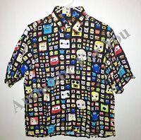 Disney Parks D23 Pixar John Lasseter Reyn Spooner Men Hawaiian Camp Shirt S-2XL