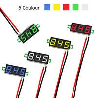 5PC Mini Digital DC 2.5V-30V LED Panel Voltmeter 3-Digital Display Voltage Meter