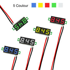 5PC Mini Digital DC 2.5V-30V LED Panel Voltmeter 3-Digital Display Voltage Meter