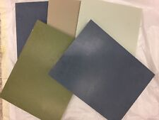 6 Pieces of DuPont Corian- Blues & Greens