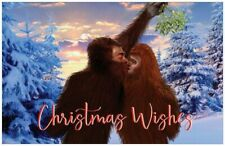 Christmas Wish... Bigfoot Holiday Greeting cards 10 pack
