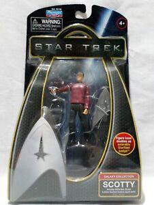 "Star Trek 2009 Movie Scotty 3.75"" Galaxy Collection Action Figure Excellent"