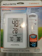 Acurite wireless indoor outdoor thermometer