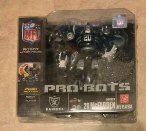 Raiders Darren McFadden 20 2009 NFL Pro Bots Figure NEW Factory Sealed