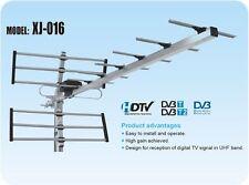 Antenna alluminio DVB TV digitale terrestre 15 dB guadagno.Uso esterno palazzo