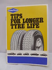 Goodyear - Tips for Longer Tyre Life Booklet - Illustrated