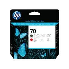 NEW! HP 70 Black /Red Printhead Twin Pack C9409A