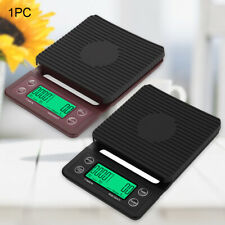 3kg/0.1g 5kg/0.1g Coffee scale with timer LCD display grill pan mini drip