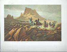 """Frank McCarthy, """"Forward by Twos"""", U.S.Cavalry, Horse, Western-Art Print---"""