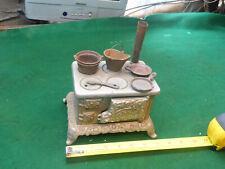Vintage Cast Iron Eagle Stove ~ Salesman sample ~ Ornate Scrolling