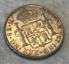 GUATEMALA SPAIN 1815-M NG SILVER 8 REALES FERDINAND VII EXCEPTIONAL GEM AU/AU+