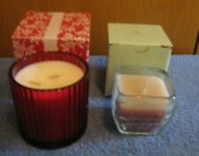 2 Partylite Candles - BayBeerry and Creamy Cocoa