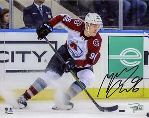 Mikko Rantanen Colorado Avalanche Signed 8x10 Stopping Photograph - Fanatics
