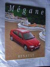 Renault Megane Prospekt / Brochure / Depliant, D, 11.1995