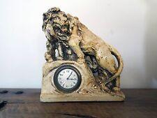 Stupendo orologio da tavolo Bella Kaminuhr Leone, firmato U. datato con 1933 Bella!...