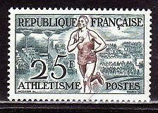 FRANCE TIMBRE NEUF N° 961 ** ATHLETISME
