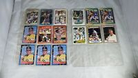 Mark McGwire 1980s-90s baseball card lot of 24 cards 87, 88, 89, 90, 91   PKC